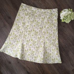 GAP Floral Midi Skirt!